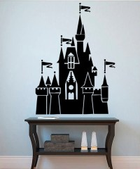 Disneyland Wall Vinyl Decal Castle Wall Vinyl by ...