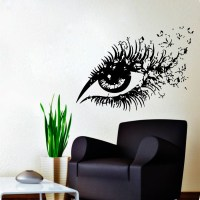 Wall Decals Hairdressing Hair Beauty Salon Decal Vinyl Sticker