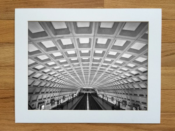 Washington Dc Metro Subway Urban Fine Art Print