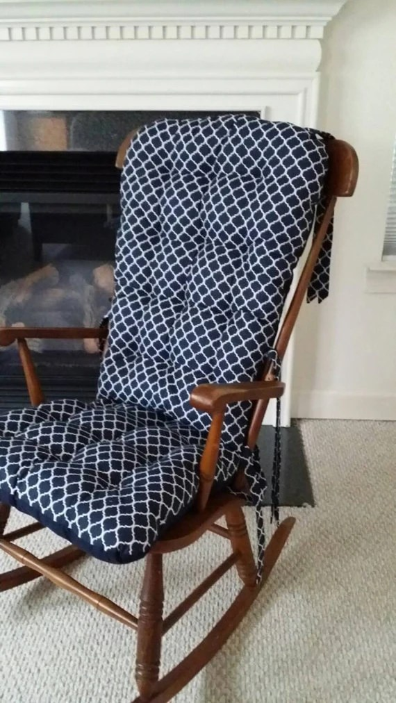 wide glider chair gray quatrefoil nursery rocking cushions replacement