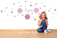 Hard Candy Decal Sweet Candy Wall Decal Sweet Shop Decor Candy