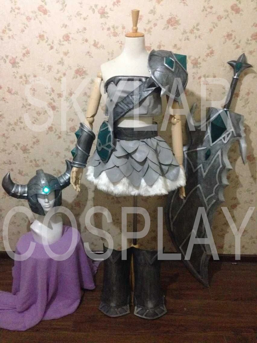 LOL League Of Legends Cosplay Costume Tryndamere Female