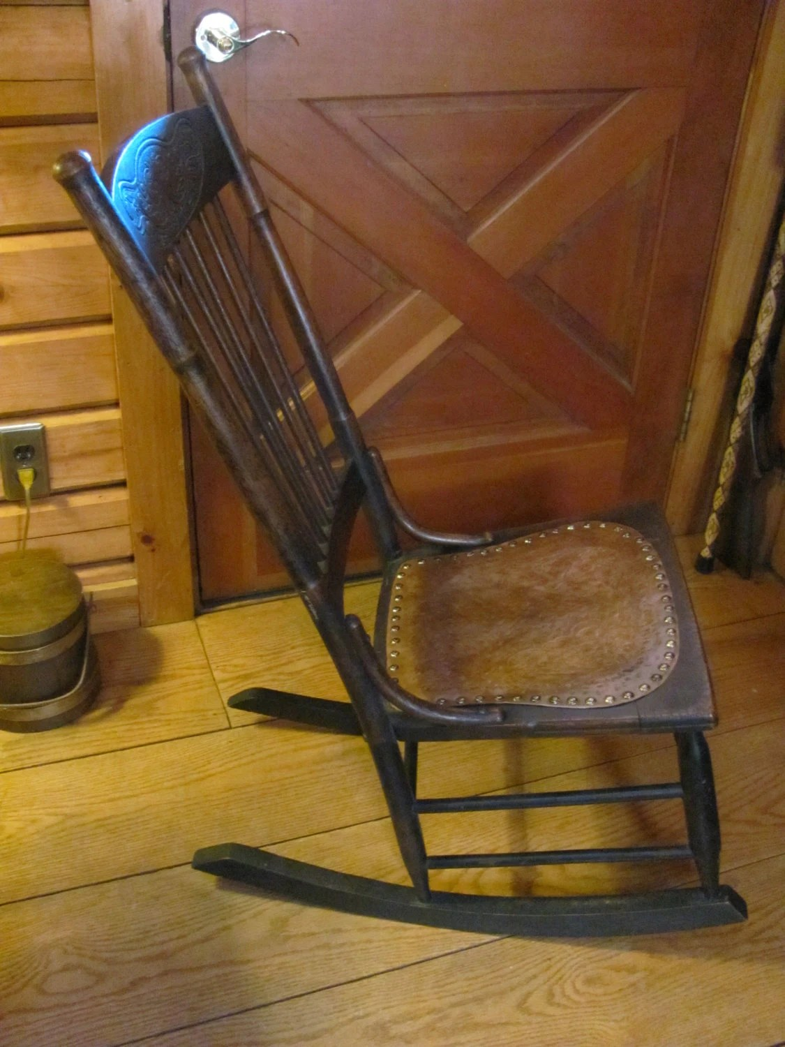 antique rocking chair price guide cheap pine dining chairs kitchen and