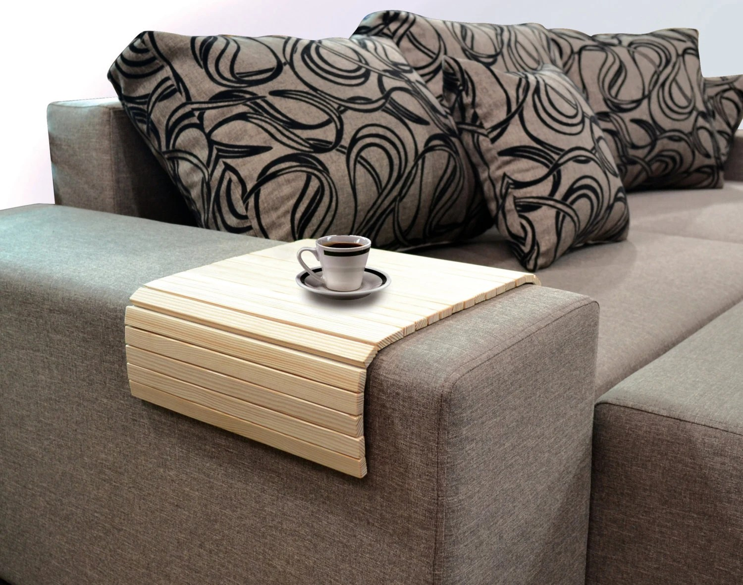 sofa tv tray table natuzzi sofas quality wooden coffee color pine
