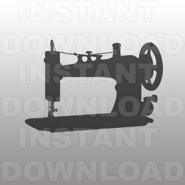 Sewing Machine Svg File Vector Clip Art
