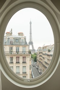 Paris Photography Eiffel tower room with a view Paris Decor