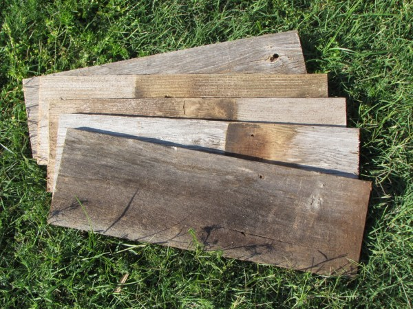 Reclaimed Barn Wood Fence