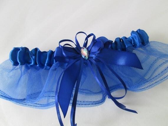 Royal Blue Prom Garter Royal Blue Wedding By GibsonGirlGarters