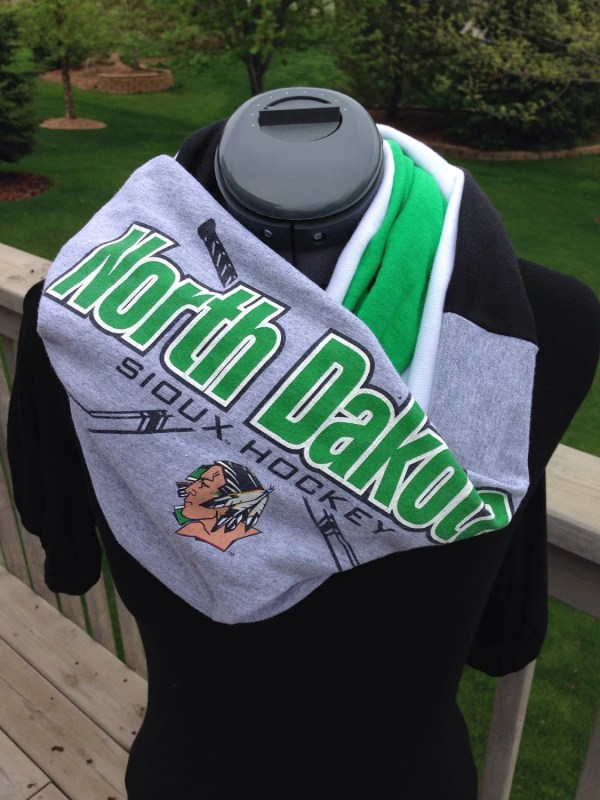 University Of North Dakota Fighting Sioux Recycled T Shirt
