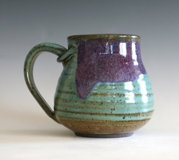 Coffee Mug Pottery 16 oz unique coffee mug ceramic by