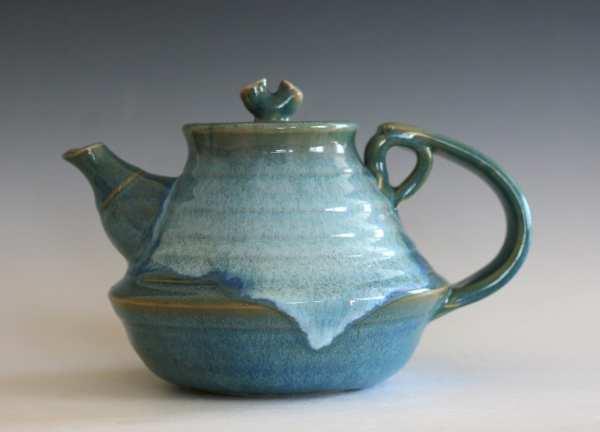 Ceramic Teapot 24 Oz Handmade Stoneware Ocpottery