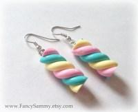 Kawaii Marshmallow Candy Earrings