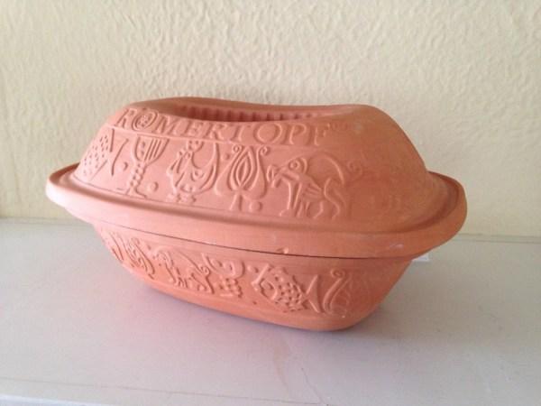 Romertopf Bay Keramik 111 Terra Cotta Clay Baker Casserole