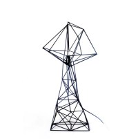 Geometric triangle lamp Shade minimal home decor modern