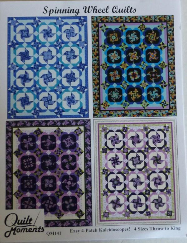 Patternquilts Fresh Lilacs Fabrics Spinning