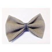 brown hair bow handmade bows