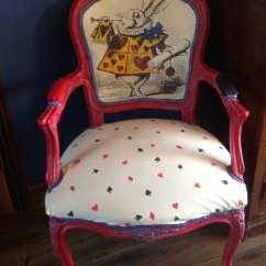 Alice In Wonderland Chair Vintage Metal Chairs For Sale Inspired Louis By Vintageaurorarose