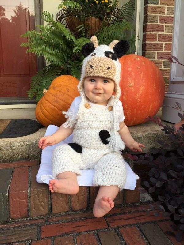 Cow Halloween Costume for Babies