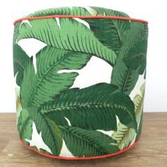 Outdoor Pouf Chair Keekaroo High Infant Insert Green Ottoman Banana Leaf Swaying Palms