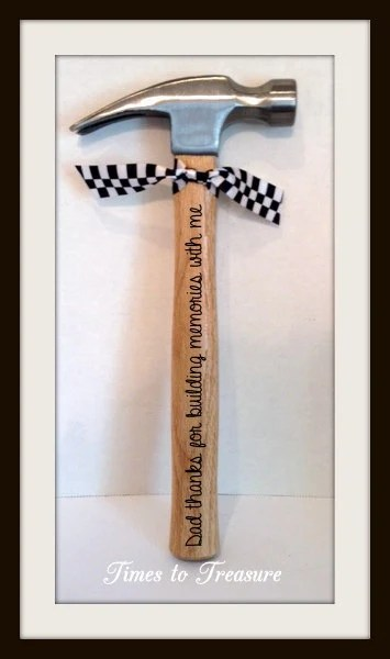 Personalized Hammer Fathers Day Gift Gift For Dad Gift For Dad