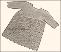 Heirloom Crochet Baby Dress Pattern ~ Dancox for