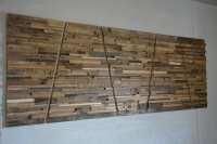 Large Reclaimed Wood Wall Art 80 x 30 x