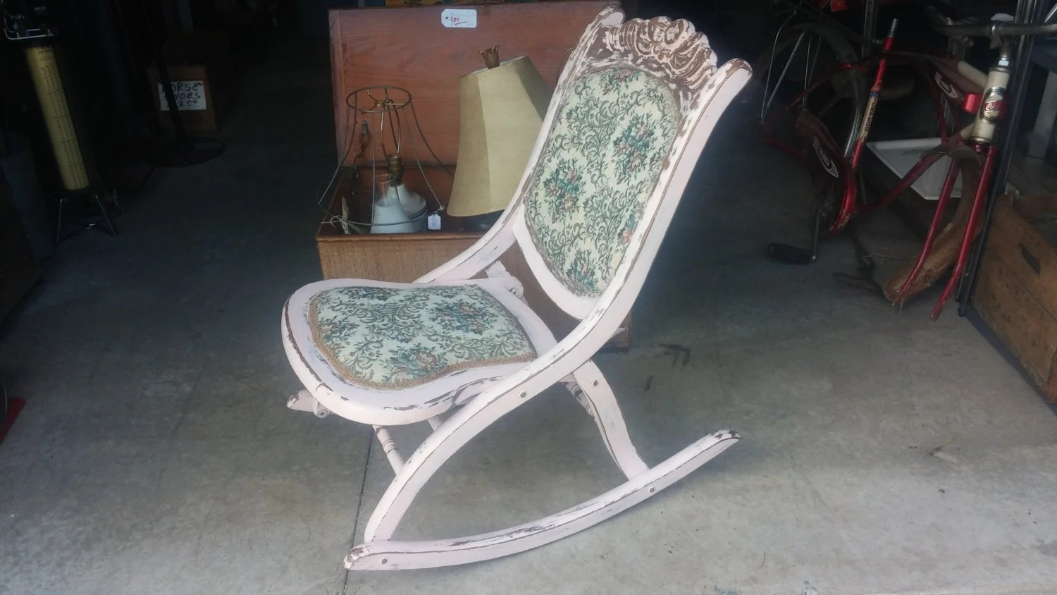 folding chair upcycle world market dining room chairs antique upcycled sewing  pick up only