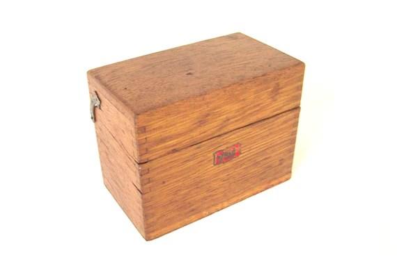 box wooden recipes trinket keepsake index card