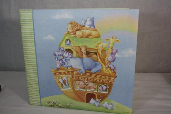 Noah' Ark Nursery 12x12 Scrapbook