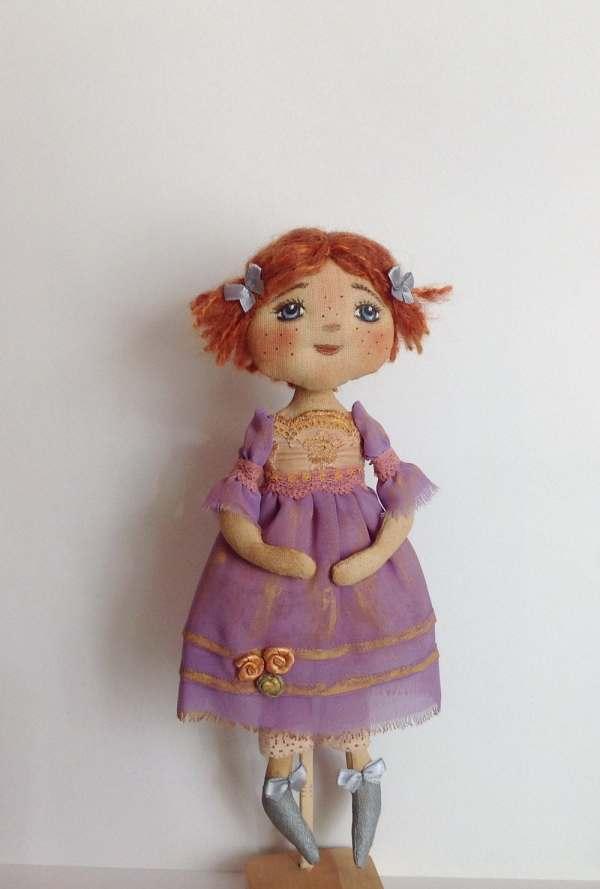 Cloth Dolls-fabric Dolls-art Doll-rag Doll-ooak