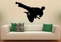 Martial Arts Karate Wall Decal Vinyl Stickers Fighting Home