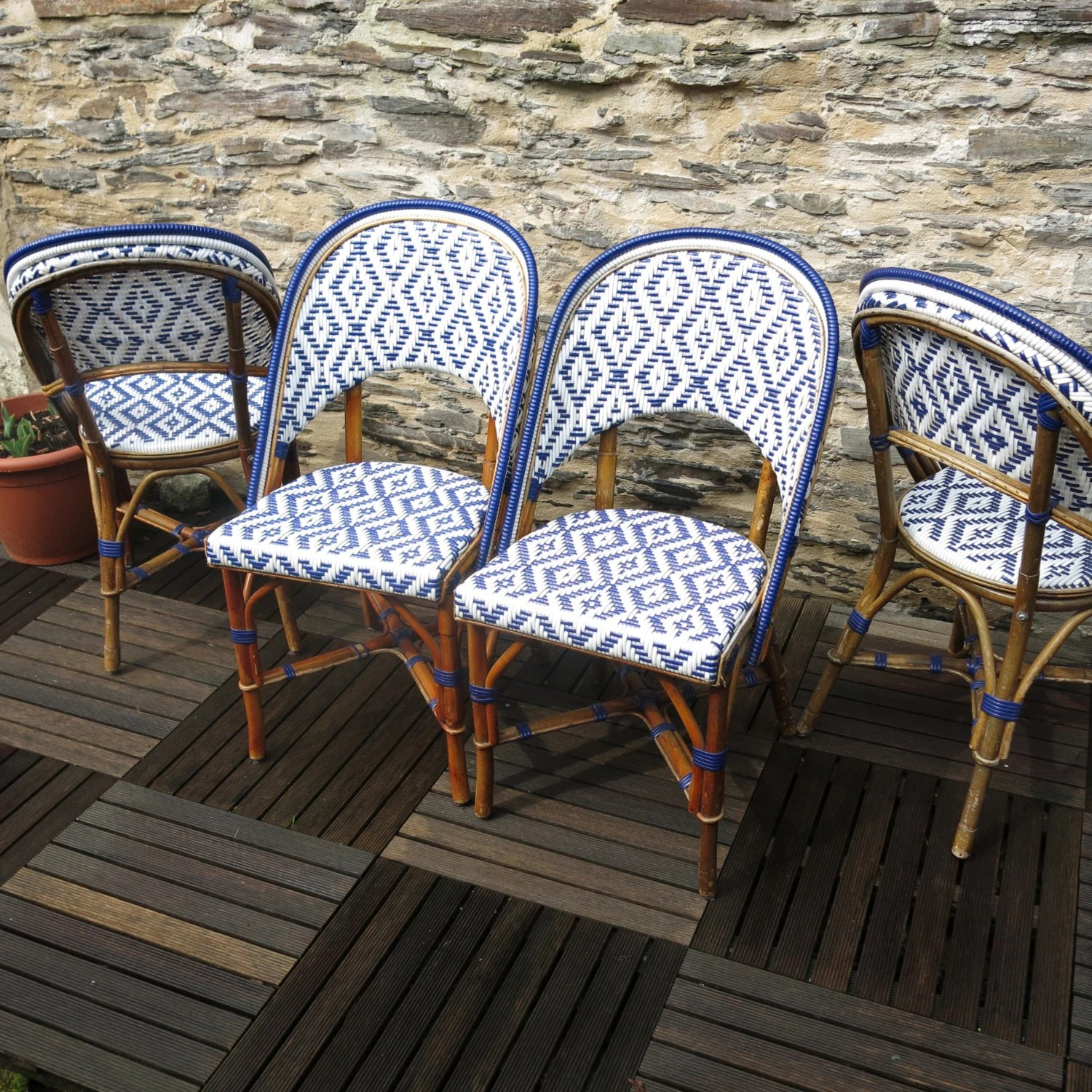 cafe rattan french bistro chairs ergonomic chair india