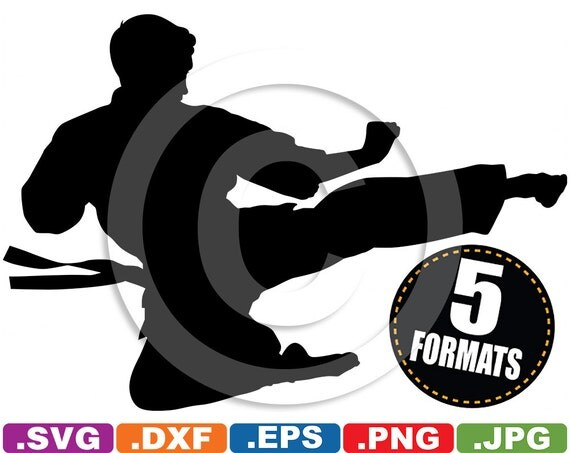 martial arts clip art svg