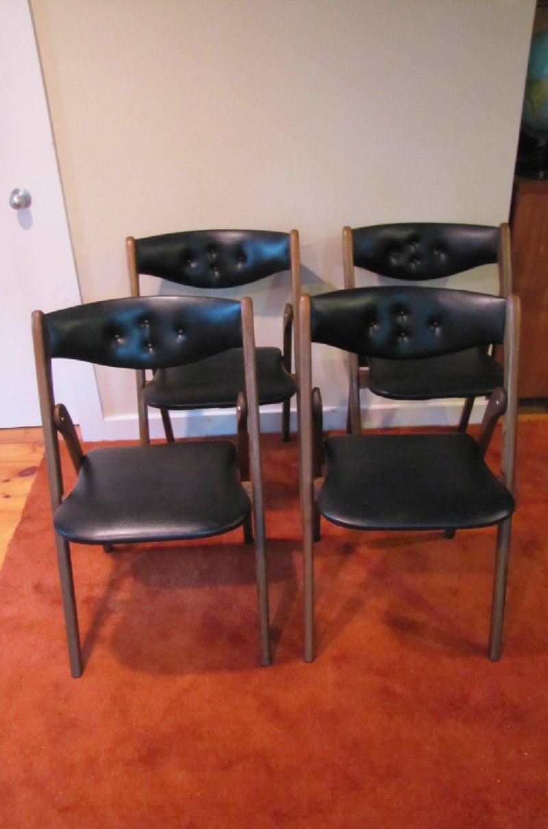 coronet folding chairs custom wonderfold set of 4 norquist