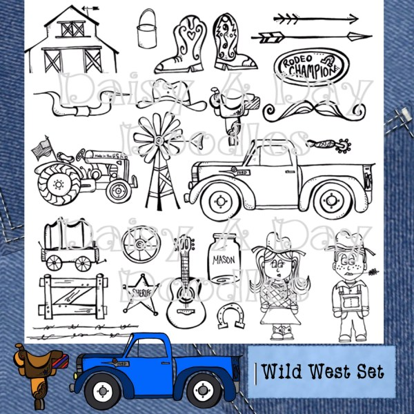 wild west country clip art