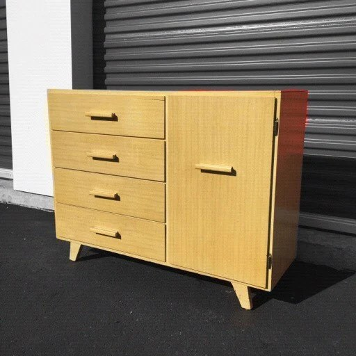 Mid Century Modern Armoire By Child Craft Childrens Furniture Haute Juice