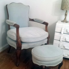 Bedroom Chair With Ottoman Patio Strap Repair Kit Antique And Accent Shabby
