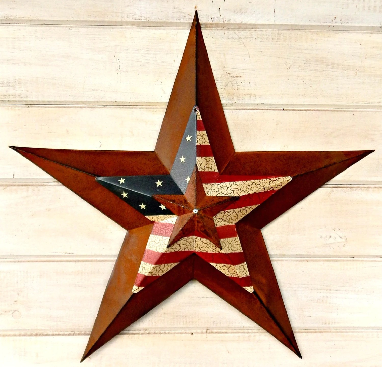 Star Home Decor Star Wall Hanging PRIMITVE American BARN STAR