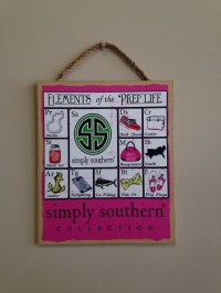 Simply Southern Wall Decor 10x12 by FreckledBerrys on Etsy