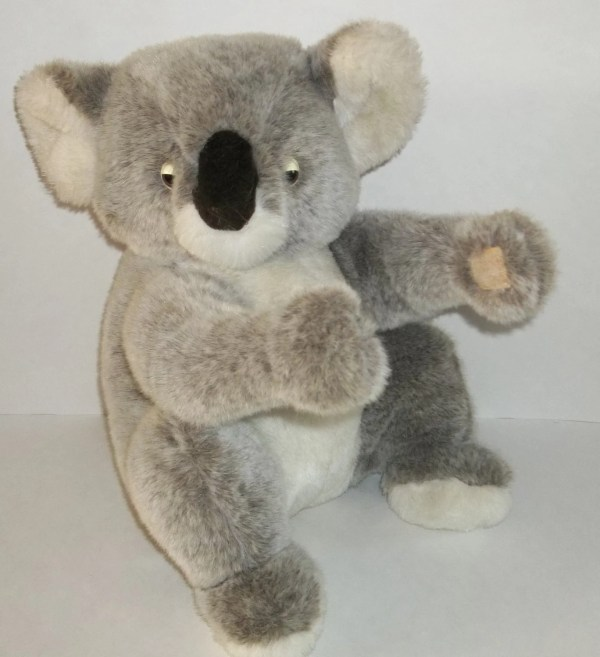 Vintage Plush Koala Bear Stuffed Animal Dakin 1988