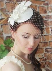 fascinator bridal mini hat wedding