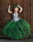 Emerald Green Flower Girl Dresses