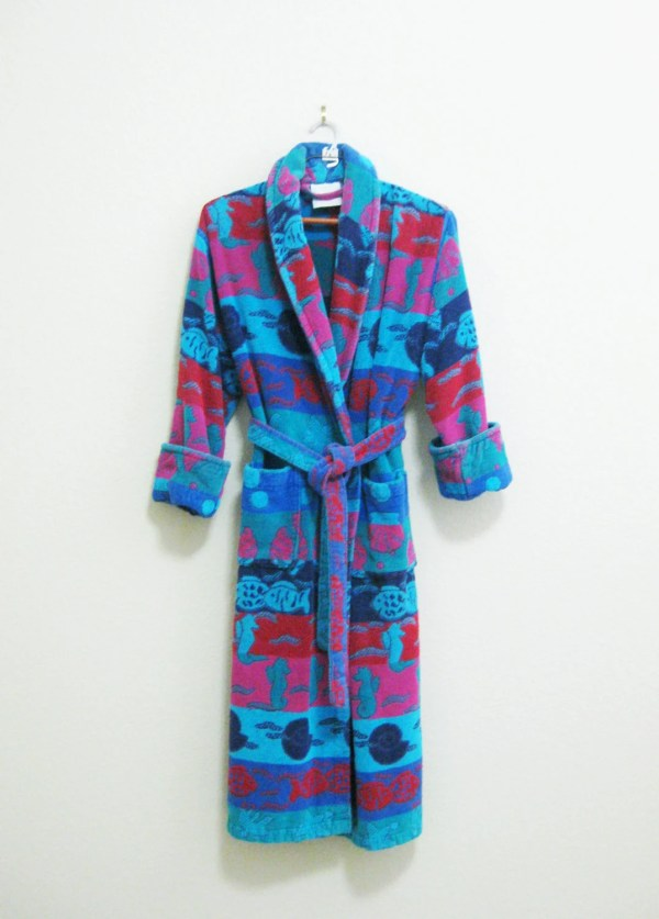 Blue Terry Cloth Robes