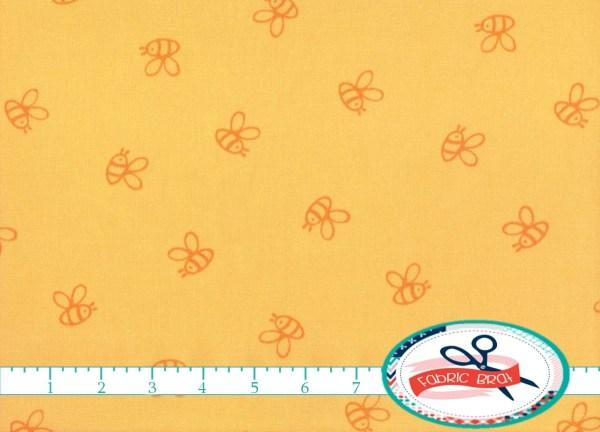 Winnie Pooh Fabric Yard Fat Quarter Yellow