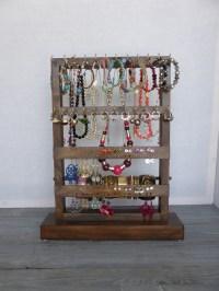 Jewelry organizer Standing jewelry holder Necklace