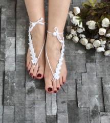 Bridal Barefoot Sandals Foot Jewelry Wedding