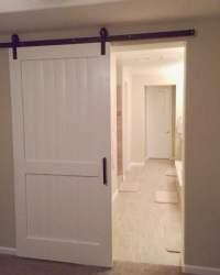 Items similar to Custom White Sliding Barn Door *Local ...