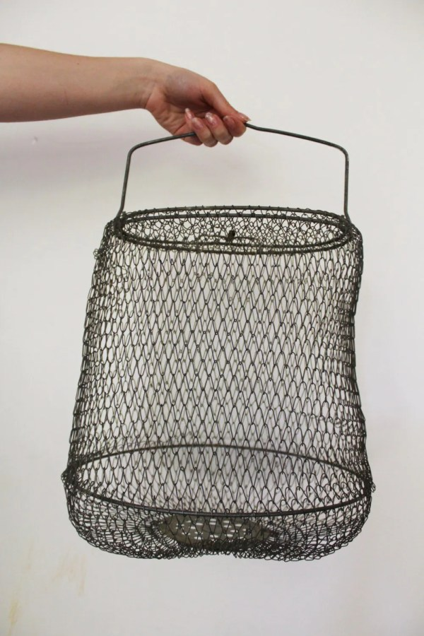 Collapsible Floating Wire Fish Basket