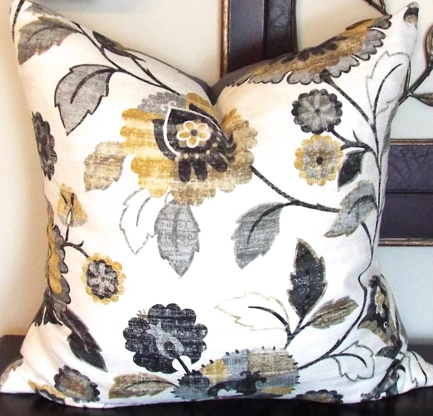 sofa cushion inserts pomona reviews gold floral throw pillow decorative pillows gray