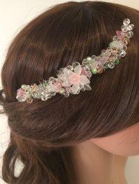Euphoria Wedding Hair Combs | silver wedding hair comb ...
